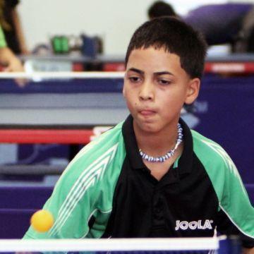 Yomar González, primera raqueta Equipo Cadetes U-15 Masculino.