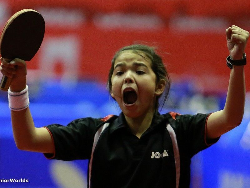 Adriana Díaz – foto por Remy Gros/ITTF