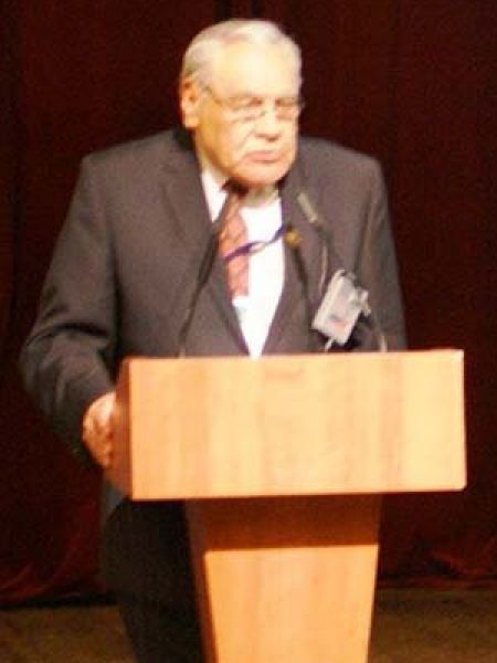 Helios Farrell en el ITTF Annual General Meeting celebrado en Moscú en 2010. (Foto: ITTF)